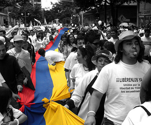 Colombia peace activists