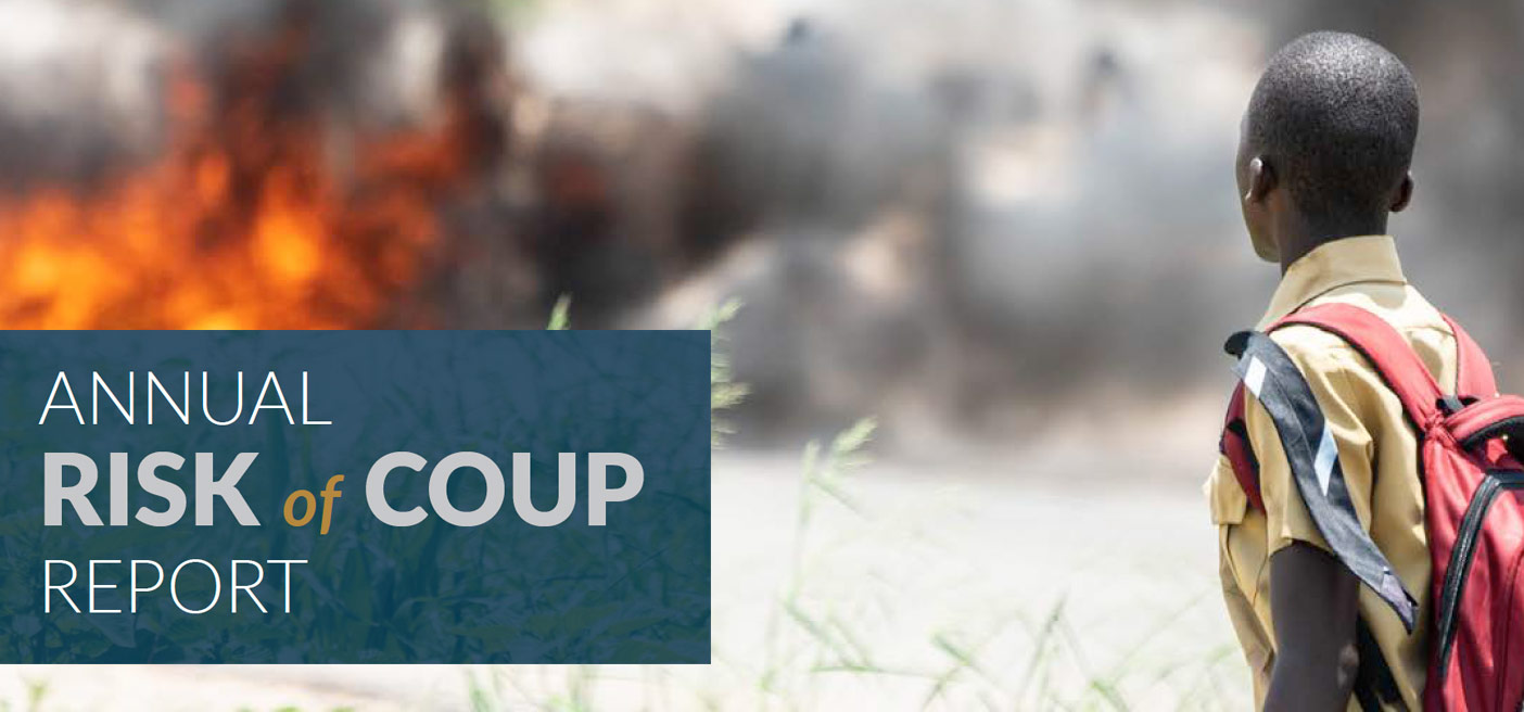 Report Cover for Risk of Coup 2019