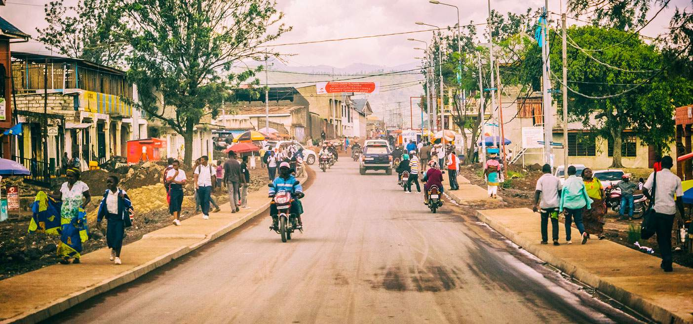Driving Through Goma