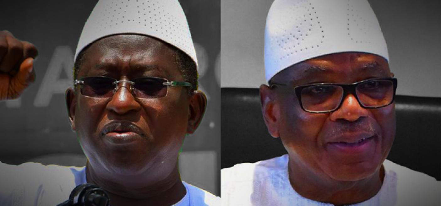 Ibrahim Keita and Soumalia Cisse Mali's Presidential Election