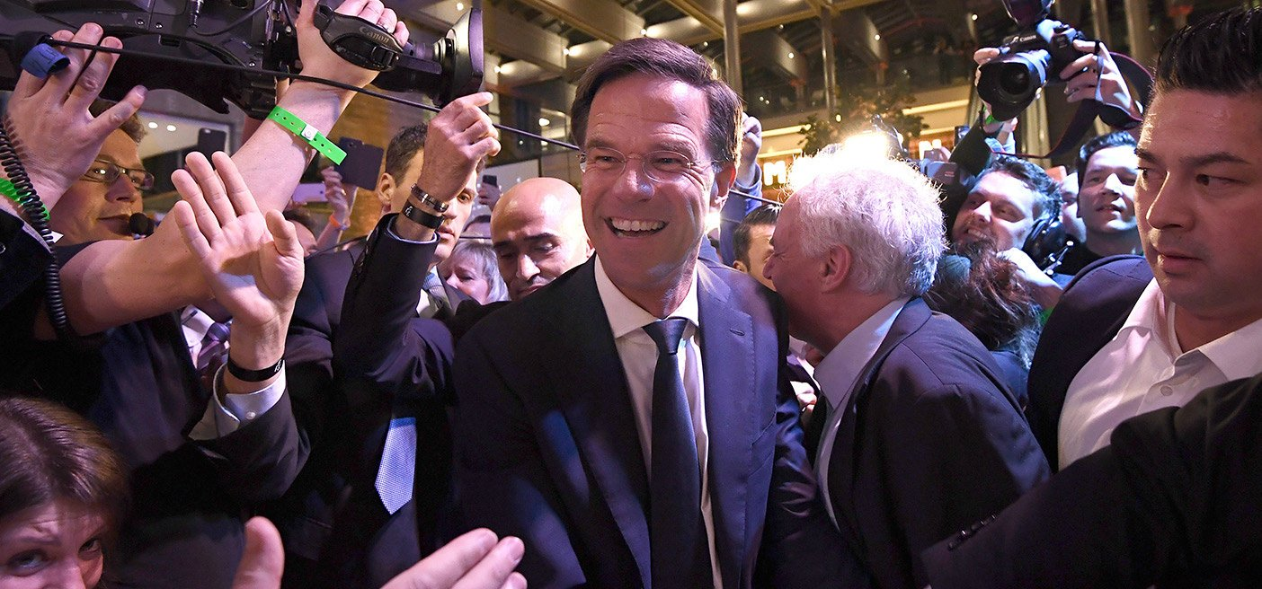 March Election Mark Rutte