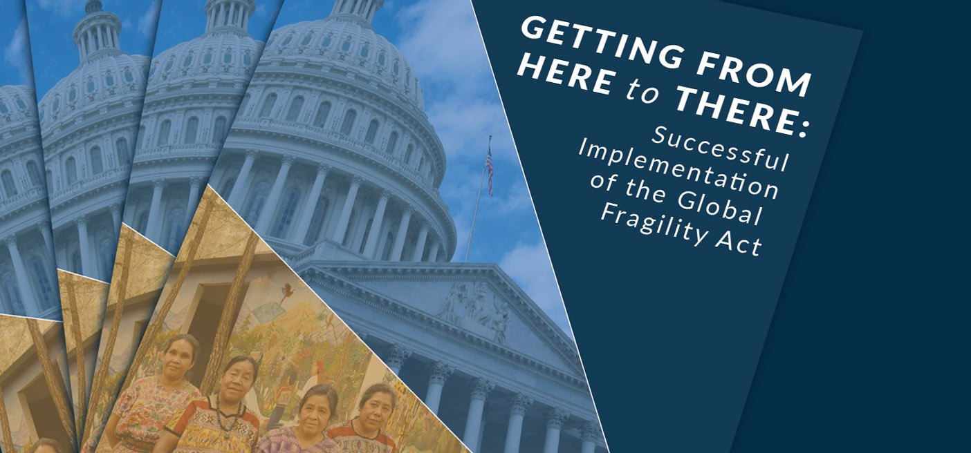 Global Fragility Act - Peace Building