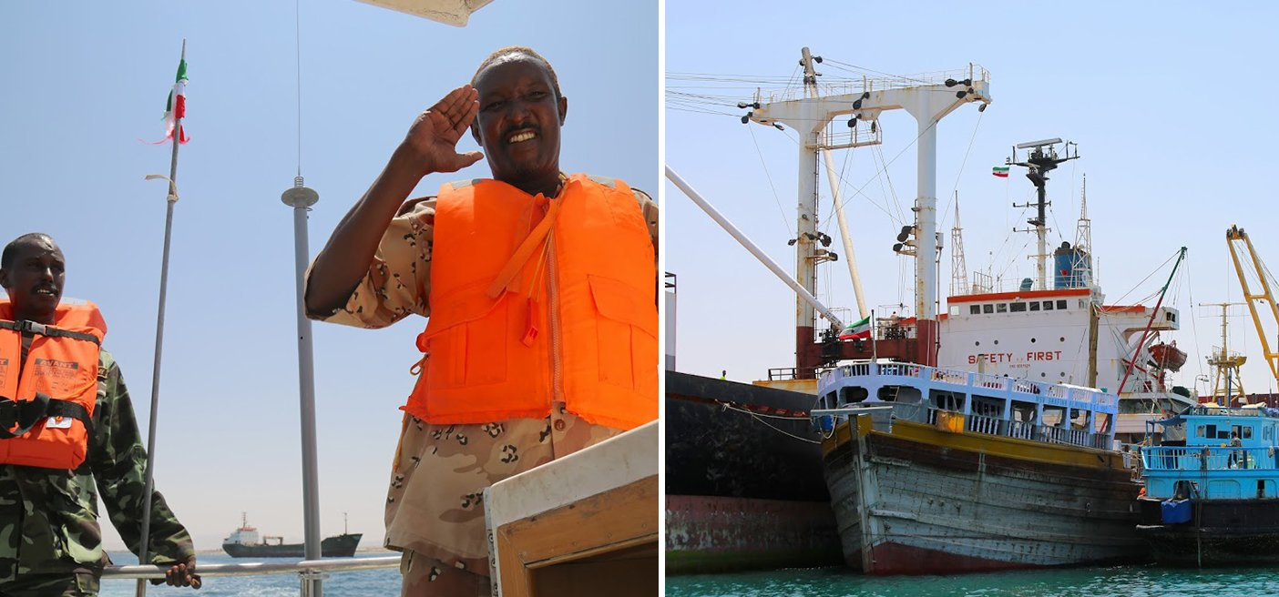 Somaliland coast guard safety first