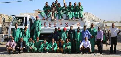 waste management in Somalia