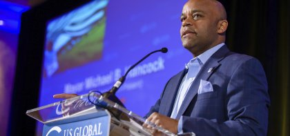 Michael Hancock at US Global Leadership Coalition