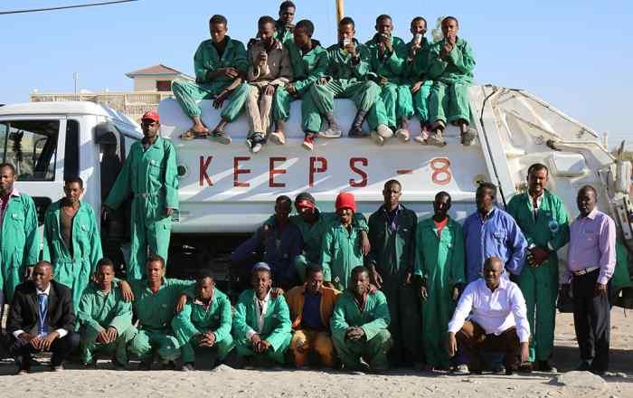 waste management in Somalia