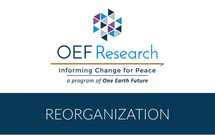 OEFR reorganization