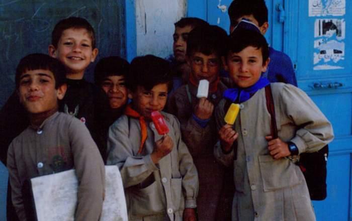 Syrian schoolchildren
