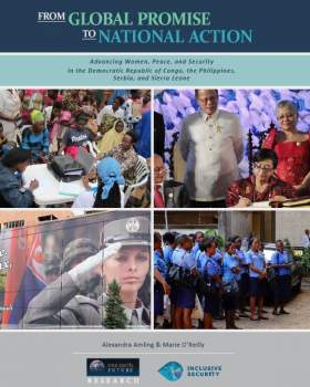 Advancing National Action Plans on Women, Peace, and Security
