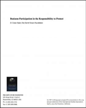 Business Participation in the Responsibility to Protect